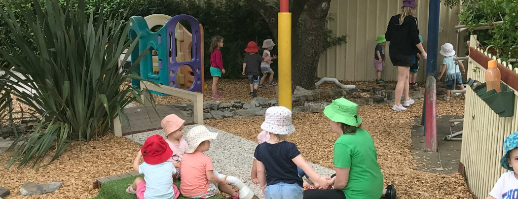 Nature yard Glandore child care