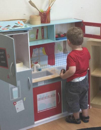 Glandore Child Care Todd kitchen